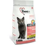Купить Сухой корм 1-ST CHOICE Adult Cat Indoor Vitality Chicken Formula с курицей для домашних кошек 907г (102.1.211)