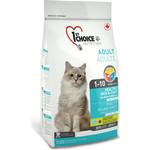 Купить Сухой корм 1-ST CHOICE Adult Cat Healthy Skin & Coat Salmon Formula с лососем здоровая кожа и шерсть для кошек 350г (102.1.220)