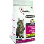 1-ST CHOICE Sterilized Cat Grain Free Chicken Formula беззерновой с курицей и бататом для стерилизованных кошек 350г (102.1.280)