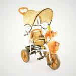 Купить Jaguar Трехколесный велосипед (MS-0737) коричневый