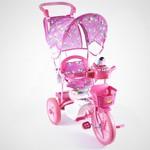 Купить Jaguar Трехколесный велосипед (MS-0737K) розовый