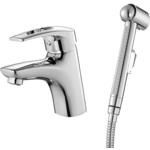 Купить Смеситель для умывальника IDDIS Carlow Plus с гигиеническим душем (CRPSB00i08)
