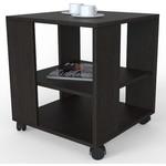 Купить Стол журнальный Мебелик BeautyStyle 6 венге/без стекла