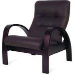 Купить Кресло-качалка Мебелик Тенария 3 эко-кожа венге