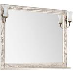 Купить Зеркало Aquanet Тесса 105 жасмин, сандал, массив дуба (185818)