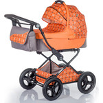 Коляска 2 в 1 BabyHit Evenly Plus Оранжевый (EVENLY Plus ORANGE)