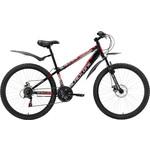 Купить Велосипед Black One Hooligan Disc черно-красный 16