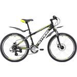 Купить Велосипед Stark Rocket 24.3 HD черно-зеленый