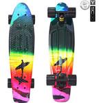 Купить RT 401G-O Скейтборд Fishskateboard Print 22'' винил 56,6х15 с сумкой Offshore