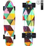 Купить RT 401G-T Скейтборд Fishskateboard Print 22'' винил 56,6х15 с сумкой Triddent