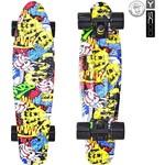 Купить RT 401G-С Скейтборд Fishskateboard Print 22'' винил 56,6х15 с сумкой Cartoon
