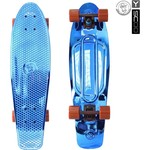 Купить RT 402H-Bl Скейтборд Big Fishskateboard metallic 27'' винил 68,6х19 с сумкой BLUE/brown