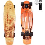 Купить RT 402H-O Скейтборд Big Fishskateboard metallic 27'' винил 68,6х19 с сумкой ORANGE/black