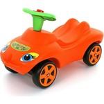 Купить Wader 44600 Каталка ''Мой любимый автомобиль'' оранжевая со звуковым сигналом