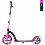 Y-Scoo Самокат RT 230 Slicker Family design Butterfly pink