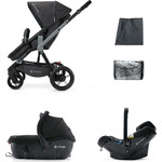Коляска 3 в 1 Concord Wanderer Travel Set (3 в 1) Raven Black 2015