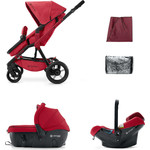 Коляска 3 в 1 Concord Wanderer Travel Set (3 в 1) Ruby Red 2015