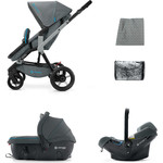 Коляска 3 в 1 Concord Wanderer Travel Set (3 в 1) Stone Grey 2015
