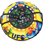 Cosmic Zoo Надувные санки-ватрушка UFO Желтый (капитан Клюква) (472063/цв 1085277)