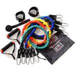 Original Fit.Tools эспандеров трубчатых в защитных чехлах (5 шт.) и аксессуаров в сумке FT-EXSET-PRO