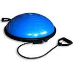 Купить Полусфера гимнастическая надувная Original Fit.Tools R2 с эспандерами и насосом FT-BSU-R2