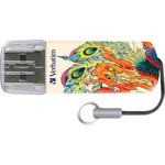 Флеш-диск Verbatim 32Gb Mini Tattoo Edition Phoenix (49898)