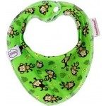 ImseVimse Нагрудник Bandana, green monkey (130213)