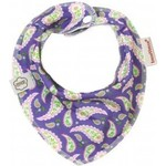 ImseVimse Нагрудник Bandana, purple paisley (130214)