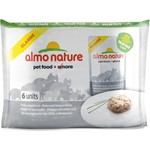 Almo Nature Classic Adult Cat with Chicken and White Bait с курицей и сардинками для кошек набор 6х55г (4446)
