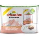 Almo Nature Classic Adult Cat with Salmon and Pumpkin с лососем и тыквой для кошек набор 6х55г (4477)