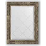 Купить Зеркало с гравировкой Evoform Exclusive-G 53x71 см, в багетной раме - старое дерево плетением 70 мм (BY 4006)