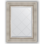 Купить Зеркало с гравировкой Evoform Exclusive-G 56x74 см, в багетной раме - римское серебро 88 мм (BY 4018)