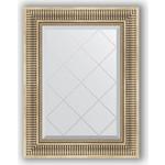 Купить Зеркало с гравировкой Evoform Exclusive-G 57x75 см, в багетной раме - серебряный акведук 93 мм (BY 4024)