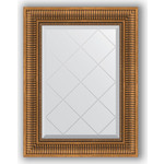 Купить Зеркало с гравировкой Evoform Exclusive-G 57x75 см, в багетной раме - бронзовый акведук 93 мм (BY 4025)