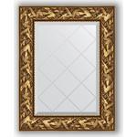 Купить Зеркало с гравировкой Evoform Exclusive-G 59x76 см, в багетной раме - византия золото 99 мм (BY 4027)