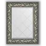 Купить Зеркало с гравировкой Evoform Exclusive-G 59x76 см, в багетной раме - византия серебро 99 мм (BY 4028)