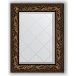 Купить Зеркало с гравировкой Evoform Exclusive-G 59x76 см, в багетной раме - византия бронза 99 мм (BY 4029)