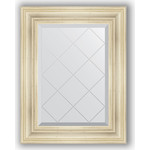 Купить Зеркало с гравировкой Evoform Exclusive-G 59x76 см, в багетной раме - травленое серебро 99 мм (BY 4031)