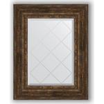 Купить Зеркало с гравировкой Evoform Exclusive-G 62x80 см, в багетной раме - состаренное дерево орнаментом 120 мм (BY 4043)