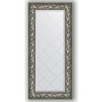 Купить Зеркало с гравировкой Evoform Exclusive-G 59x128 см, в багетной раме - византия серебро 99 мм (BY 4071)