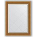 Купить Зеркало с гравировкой Evoform Exclusive-G 63x86 см, в багетной раме - состаренное золото с плетением 70 мм (BY 4088)