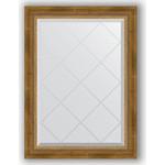 Купить Зеркало с гравировкой Evoform Exclusive-G 63x86 см, в багетной раме - состаренная бронза с плетением 70 мм (BY 4090)