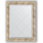 Купить Зеркало с гравировкой Evoform Exclusive-G 63x86 см, в багетной раме - прованс с плетением 70 мм (BY 4091)