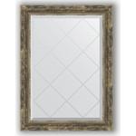 Купить Зеркало с гравировкой Evoform Exclusive-G 63x86 см, в багетной раме - старое дерево с плетением 70 мм (BY 4092)