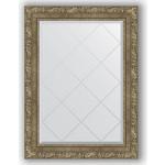Купить Зеркало с гравировкой Evoform Exclusive-G 65x87 см, в багетной раме - виньетка античная латунь 85 мм (BY 4102)