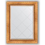 Купить Зеркало с гравировкой Evoform Exclusive-G 66x89 см, в багетной раме - римское золото 88 мм (BY 4103)