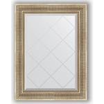 Купить Зеркало с гравировкой Evoform Exclusive-G 67x90 см, в багетной раме - серебряный акведук 93 мм (BY 4110)