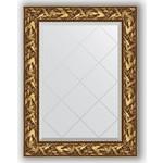 Купить Зеркало с гравировкой Evoform Exclusive-G 69x91 см, в багетной раме - византия золото 99 мм (BY 4113)