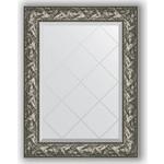 Купить Зеркало с гравировкой Evoform Exclusive-G 69x91 см, в багетной раме - византия серебро 99 мм (BY 4114)