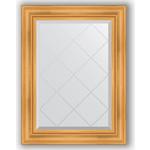 Купить Зеркало с гравировкой Evoform Exclusive-G 69x91 см, в багетной раме - травленое золото 99 мм (BY 4116)